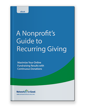 A Nonprofit's Guide to Recurring Giving