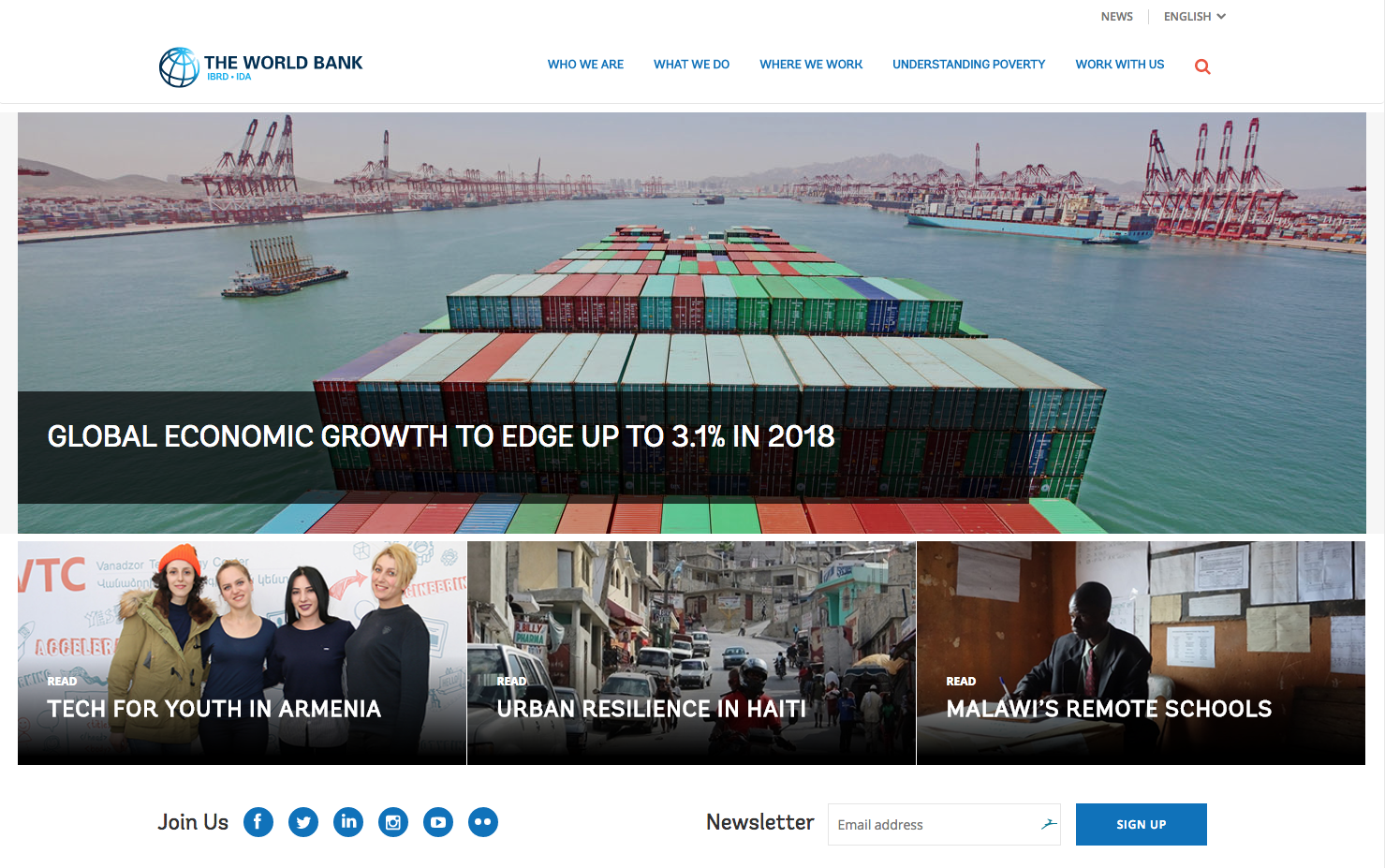World Bank Podcast