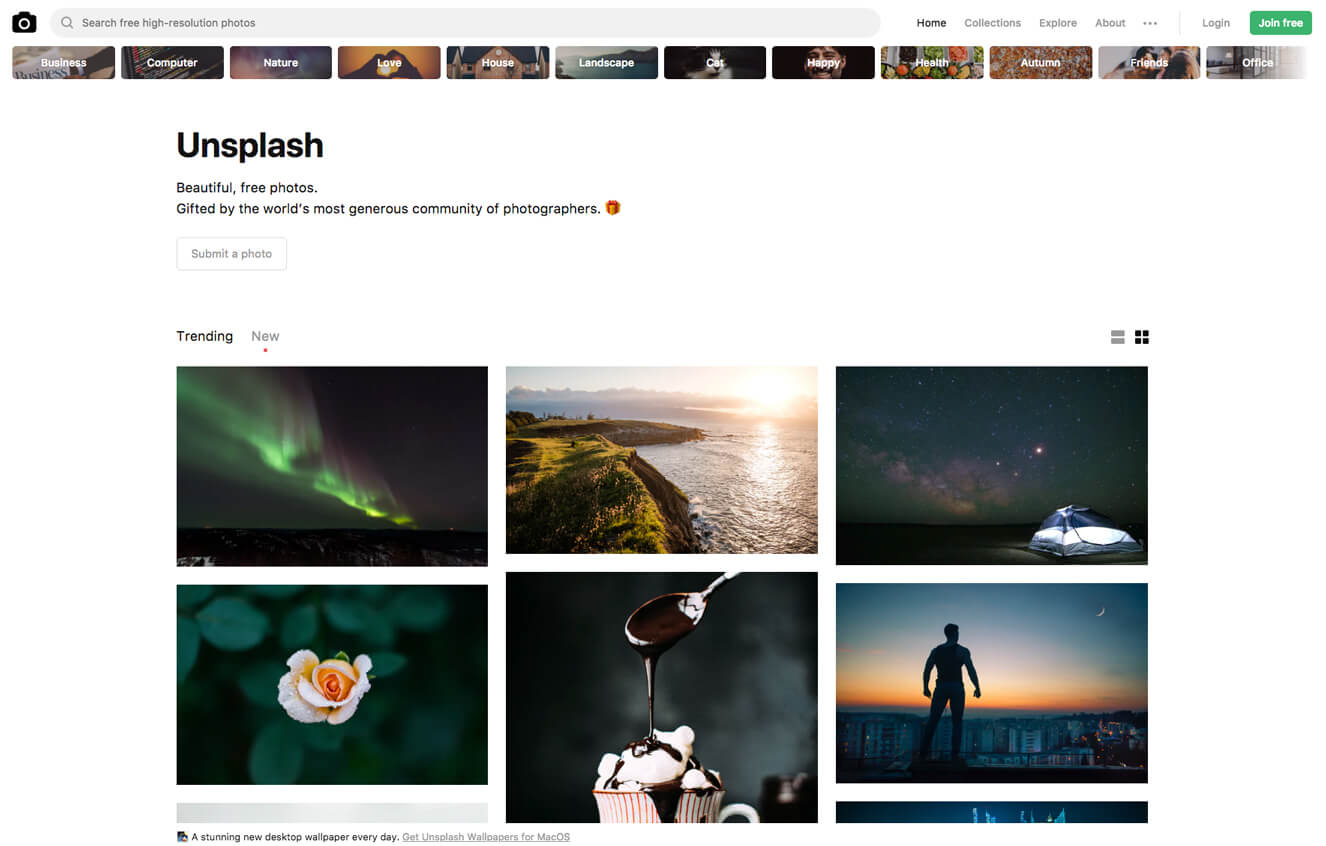 Featured Resource: Unsplash Photo Library